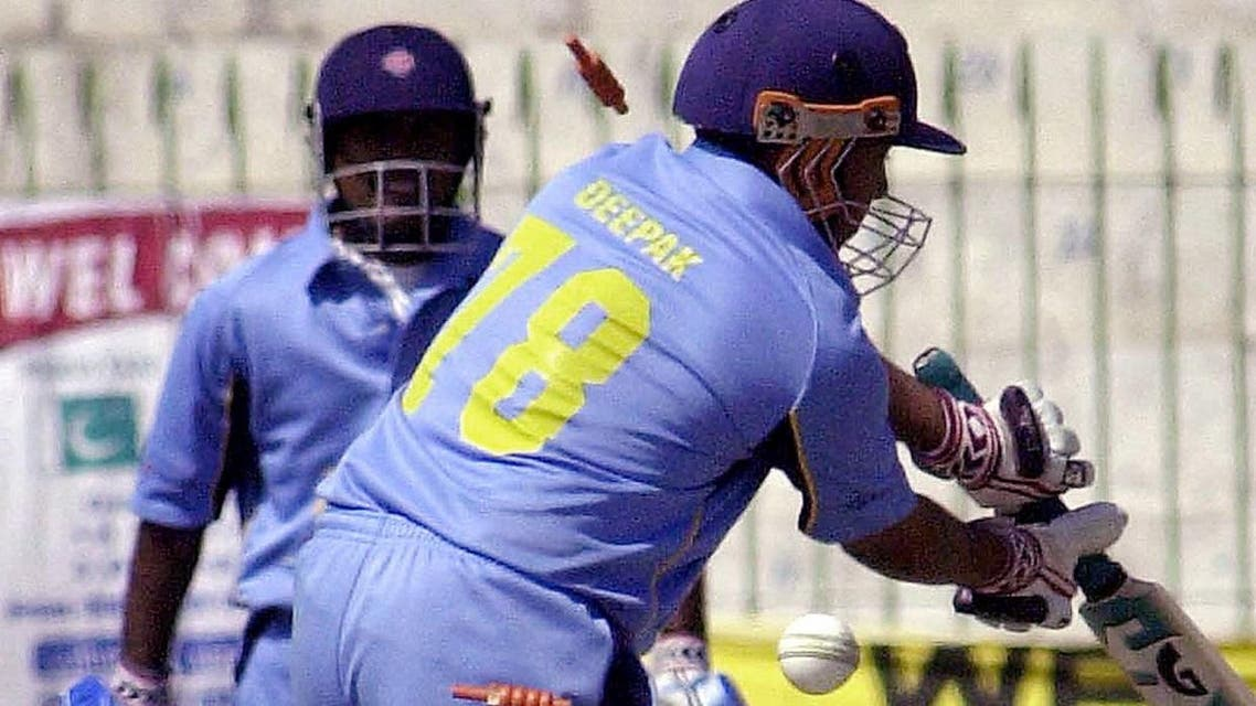 A match between Pakistan and India deaf teams in progress in Peshawar on, 28 March 2005. (File photo: AFP)