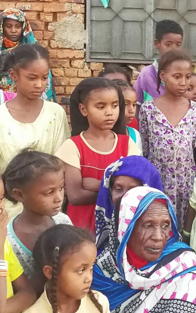 أخوات الشاب السوداني المخطوف