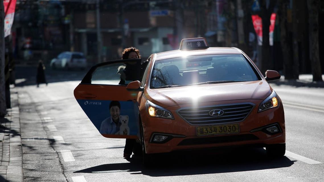 Korea Taxi. (AFP)
