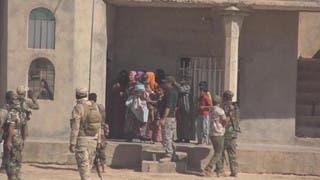 عناصر من الحشد في الموصل