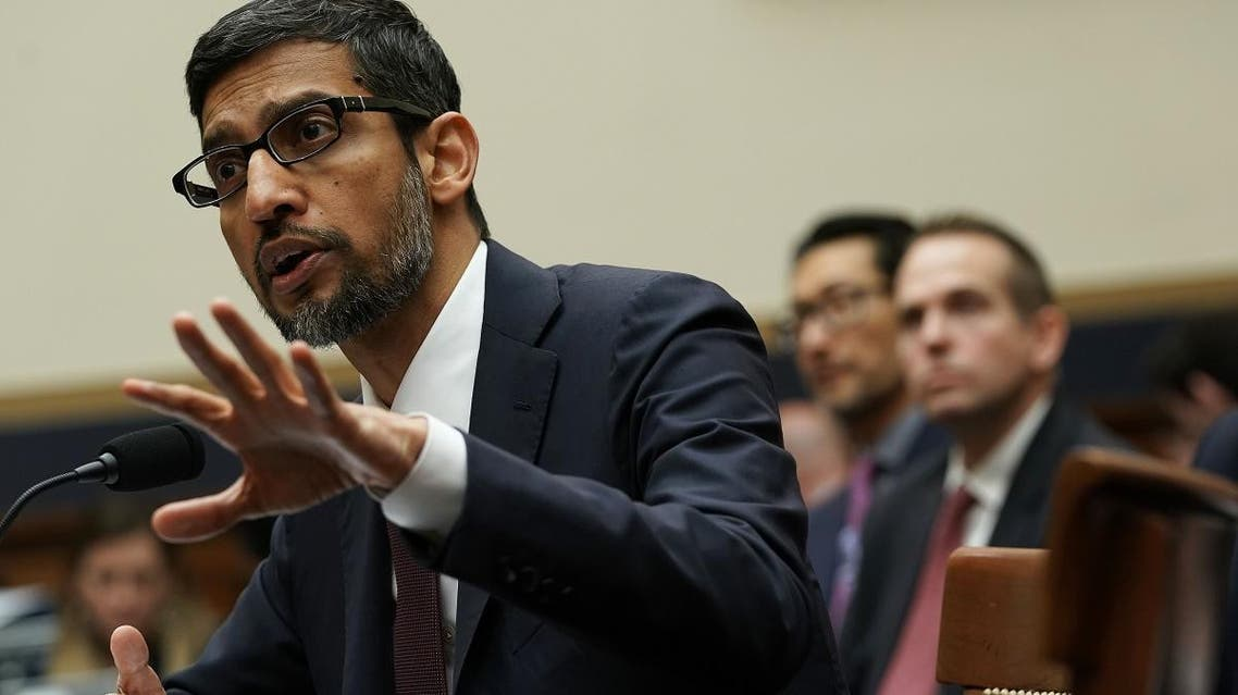 Google CEO Sundar Pichai testifies before the House Judiciary Committee at the Rayburn House Office Building on December 11, 2018 in Washington, DC.
