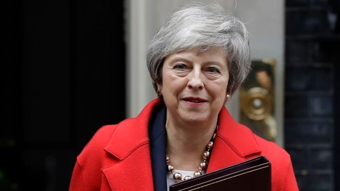 رئيسة الوزراء البريطاني تيريزا ماي