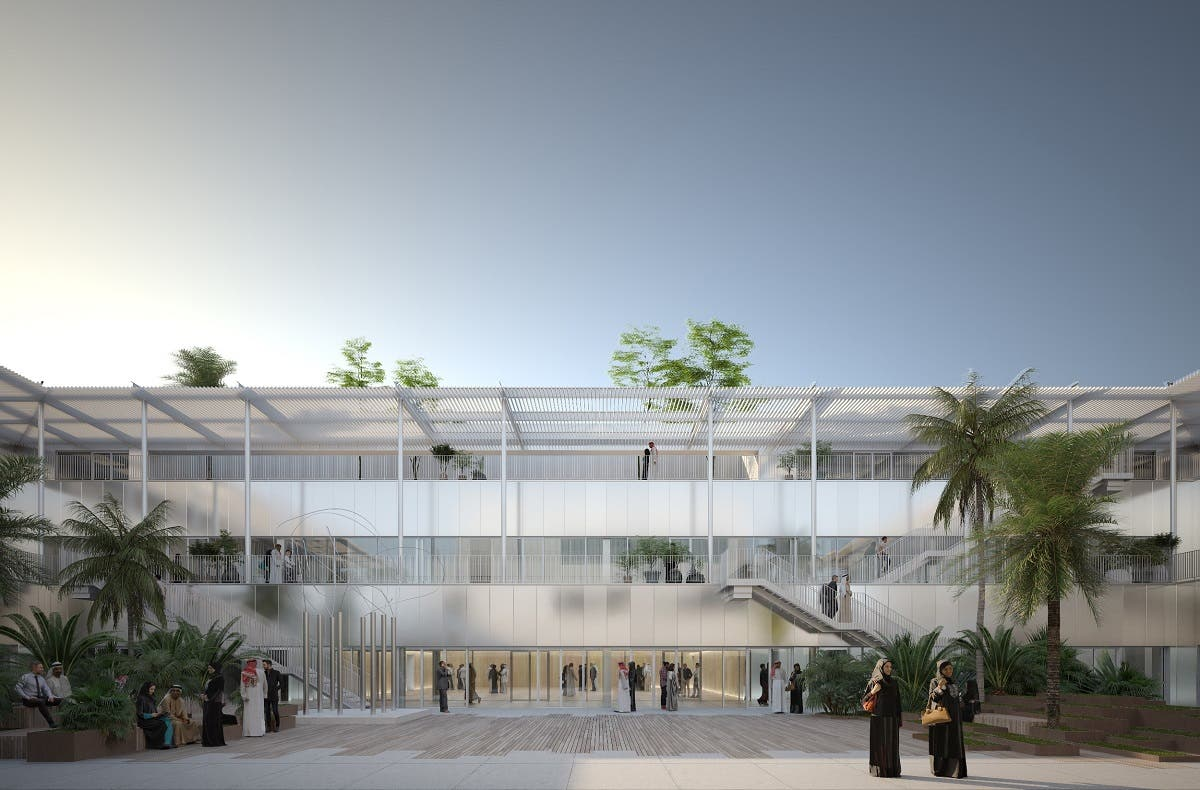 Hayy, Creative Hub: Central courtyard. (Supplied)