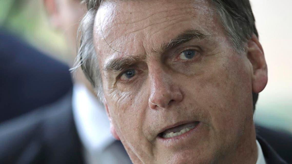 Brazil Bolsonaro. (AP)