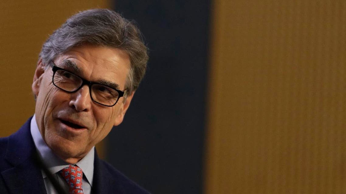 US Energy Secretary Rick Perry. (AP)