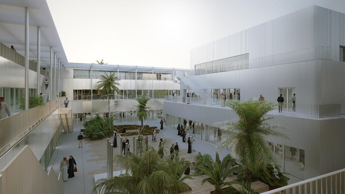 Hayy- Creative Hub: Central courtyard top view. (Supplied)