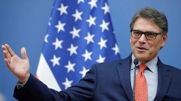 وزير الطاقة الأميركي: واثقون في أن السوق تتلقى إمدادات جيدة