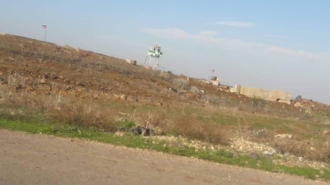 قاعدة عسكرية روسية على اتوستراد درعا ـ دمشق