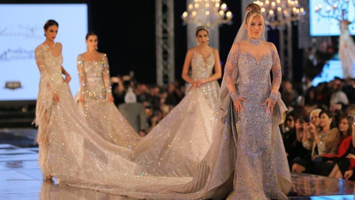 Nicole Saba Diamond dress. (Photo courtesy: Youm7)