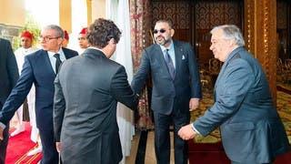 مباحثات بين محمد السادس وغوتيريس حول نزاع الصحراء