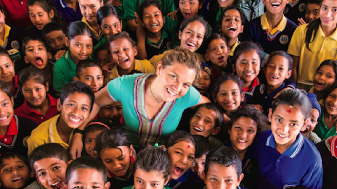 Maggie Doyne's work has received worldwide recognition. (Supplied)