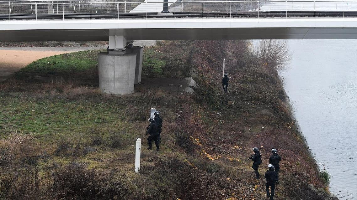 Germany Strasbourg killer search. (AFP)