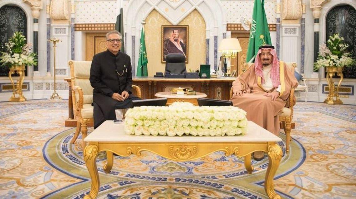 پادشاه سعودی و رییس جمهوری پاکستان