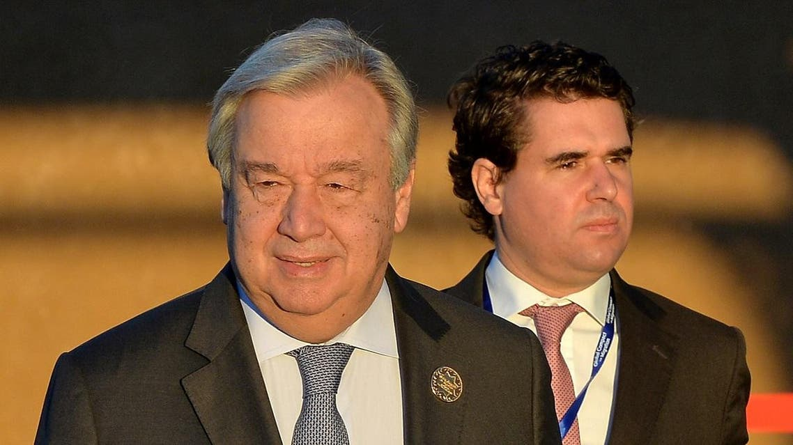 Guterres will arrive in Stockholm Wednesday to boost the UN envoy's efforts to Yemen Martin Griffiths. (Reuters)