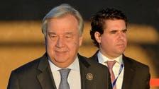 UN chief Guterres to attend Yemen's peace talks in Sweden