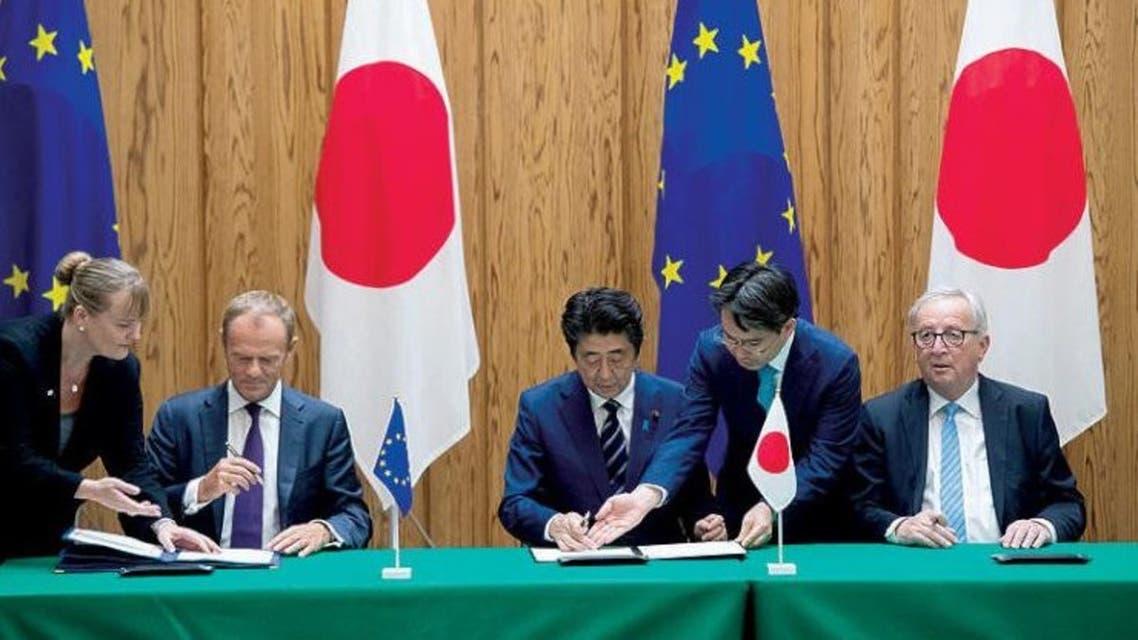أوروبا واليابان