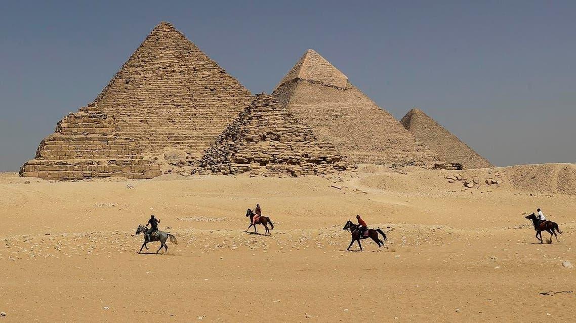 Egypt Pyramid (AFP)