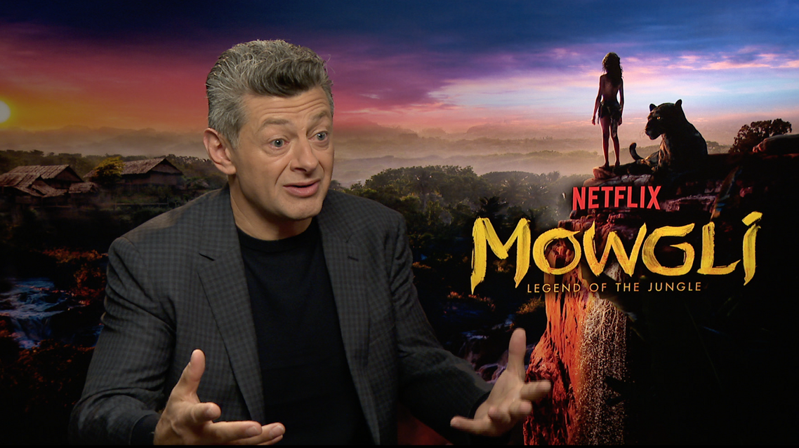 Andy Serkis on how Mowgli grapples with Kipling's colonialist view of India