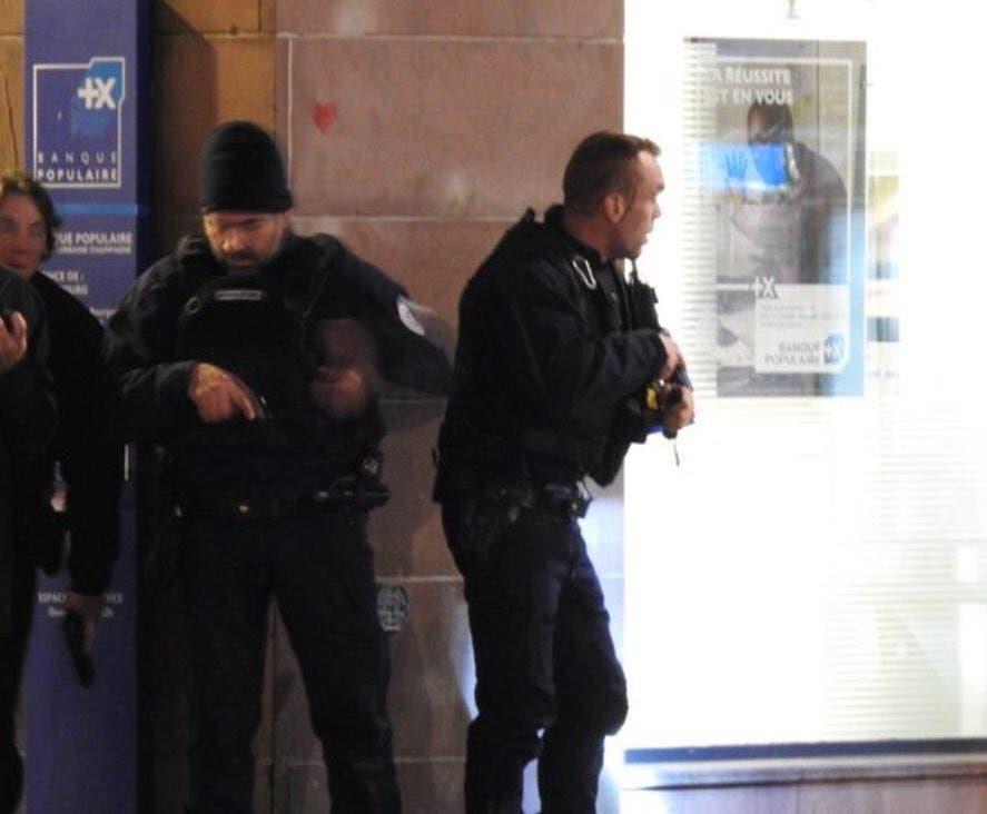 عناصر الشرطة في ستراسبورغ