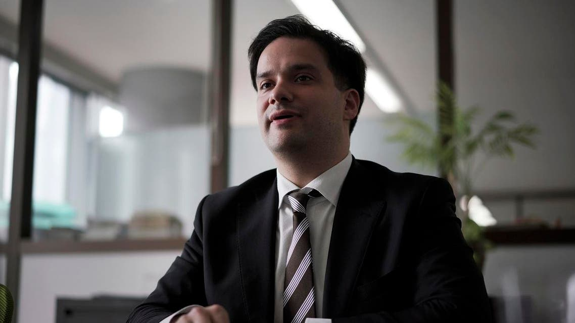 France-born Mark Karpeles, 33, faces charges that he fraudulently manipulated data and pocketed millions of dollars' worth of the virtual currency. (AP)