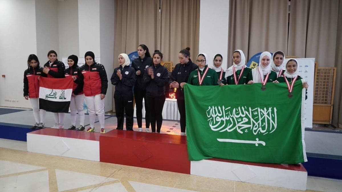 The Arab Fencing Championship. (Supplied)