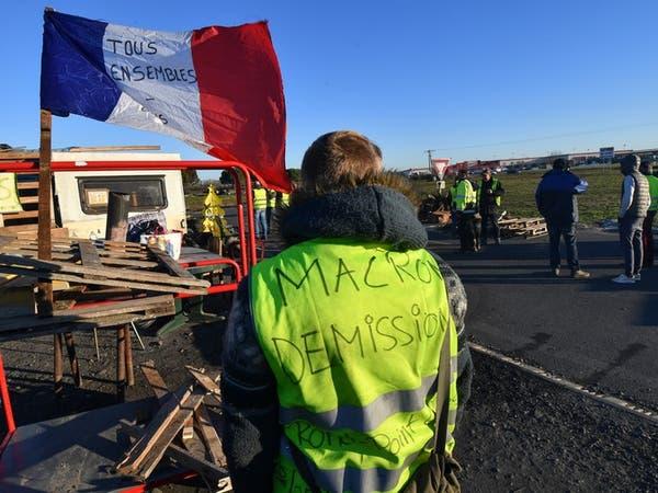 """فرنسا.. ارتفاع قتلى احتجاجات """"السترات الصفر"""" إلى 9"""