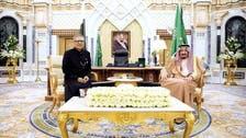 صدر پاکستان کی سعودی فرمانروا سے ملاقات، دو طرفہ تعلقات بڑھانے پر اتفاق