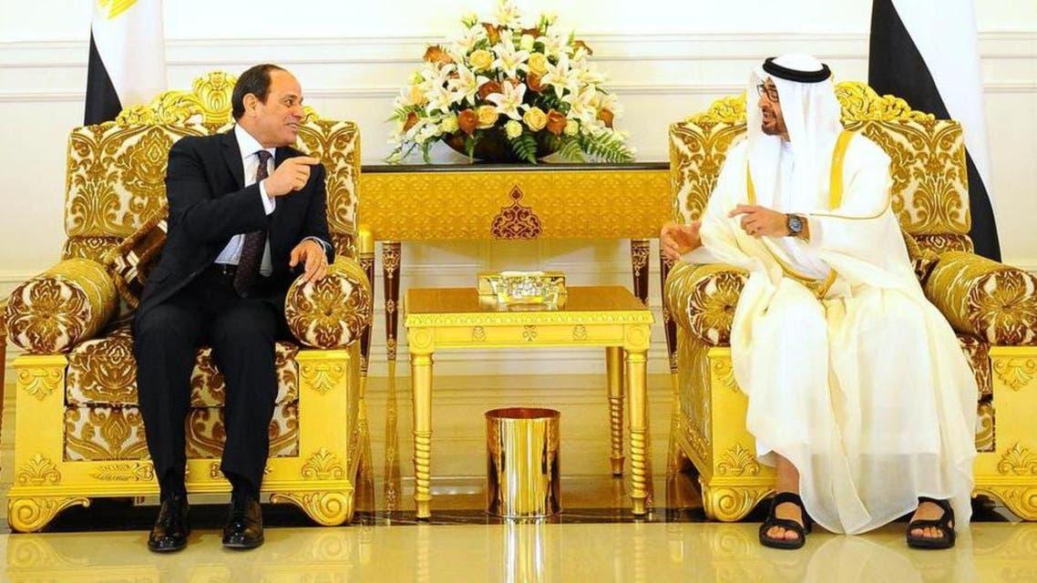 Abdual fatah Sisi and Muhammad bin zaid