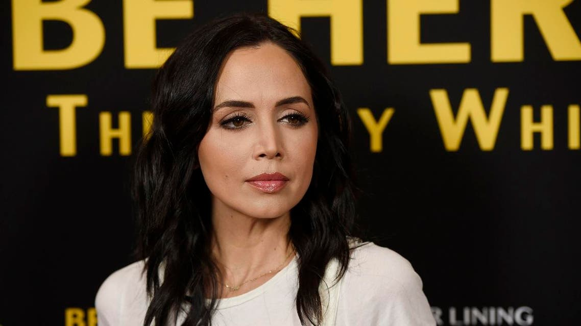 """Eliza Dushku poses at the premiere of the film """"Be Here Now (The Andy Whitfield Story),"""" at the UTA Theater in Beverly Hills. (File photo: AP)"""