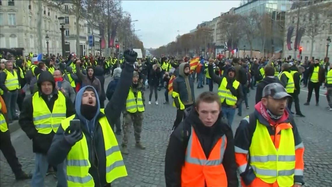 فرنسا تتأهب لاحتجاجات الغد
