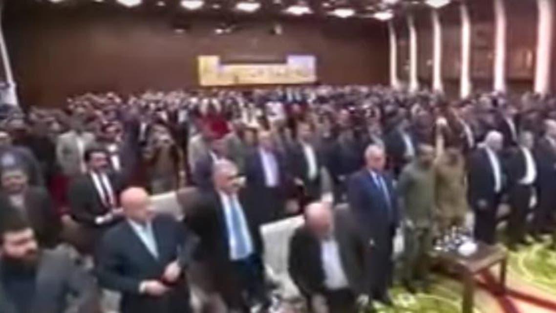 Iran Ambassador to Iraq Iraj Masjidi (Screen grab)