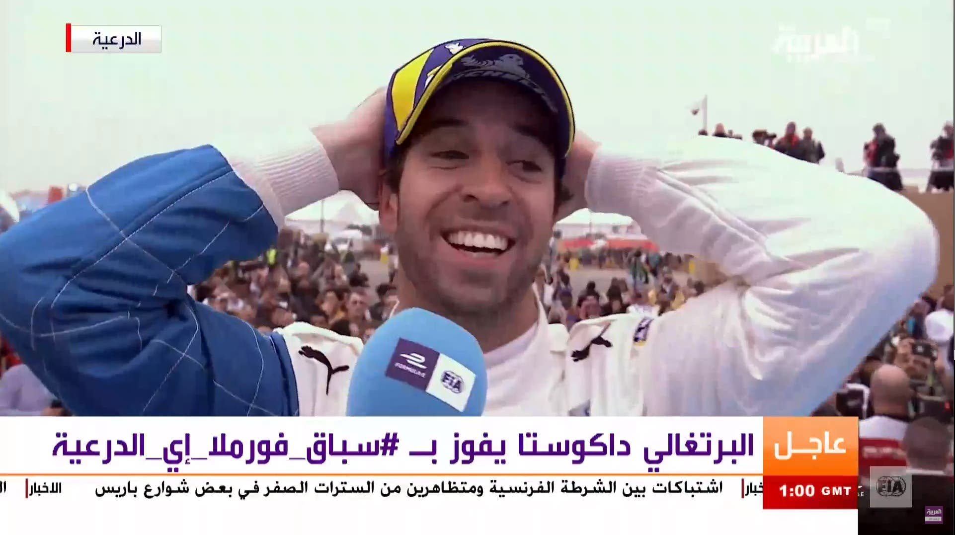 آنتونیو فیلیکس دوکوستا برنده فورمولا ای