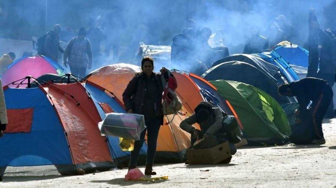 مركز لاجئين في البوسنة