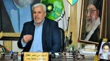 بغداد کی صوبائی کونسل کے رکن کے دفتر میں خامنہ ای اور خمینی کی تصاویر