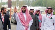 Crown prince showcases Saudi hospitality, welcoming racers and visitors alike