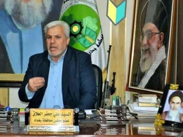 صورة عضو محافظة بغداد تثير جدلا..خامنئي والخميني بمكتبه