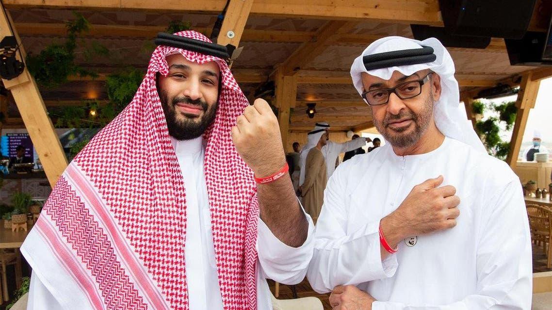 Saudi, Bahrain and Abu Dhabi crown princes attend Ad-Diriyah Formula E race 1