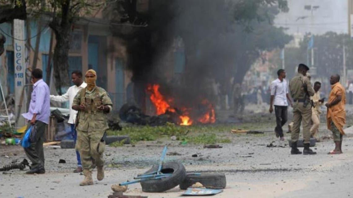 غارة أميركية سابقة على حركة الشباب في الصومال