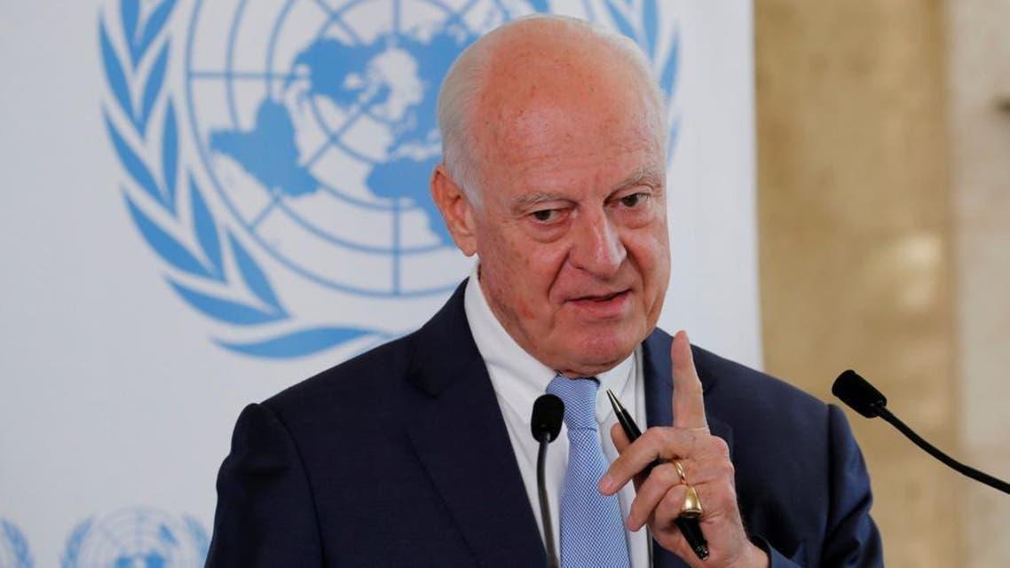 مذاکرات دی میستورا با ایران، ترکیه و روسیه درباره تشکیل کمیته قابل اعتماد قانون اساسی در سوریه