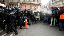پیرس : زرد صدری تحریک کے مظاہروں کا پانچواں ہفتہ ، 85 گرفتار