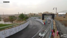 Formula E racers start second practice around Ad-Diriyah track before race