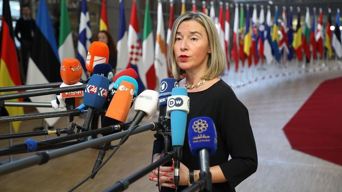 EU Federica Mogherini (AFP)