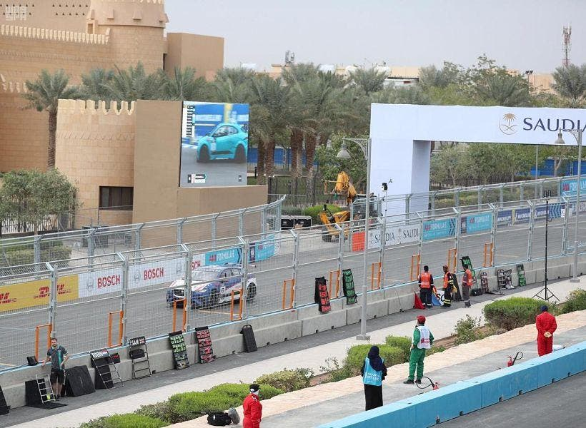 Formula E Ad-Diriyah. (Supplied)