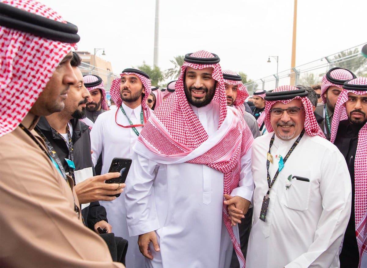 Saudi, Bahrain and Abu Dhabi crown princes attend Ad-Diriyah Formula E race 2
