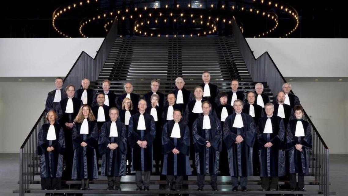 یورپی محکمہ انصاف کے ارکان