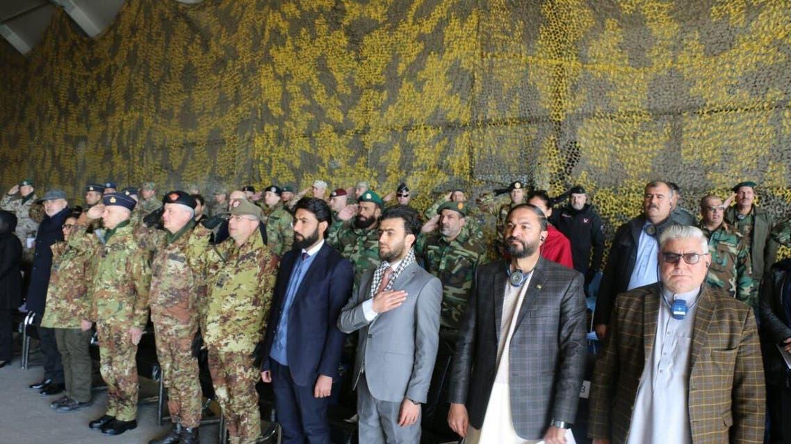وزیر دفاع ایتالیا: همکاری ما با افغانستان ادامه دارد