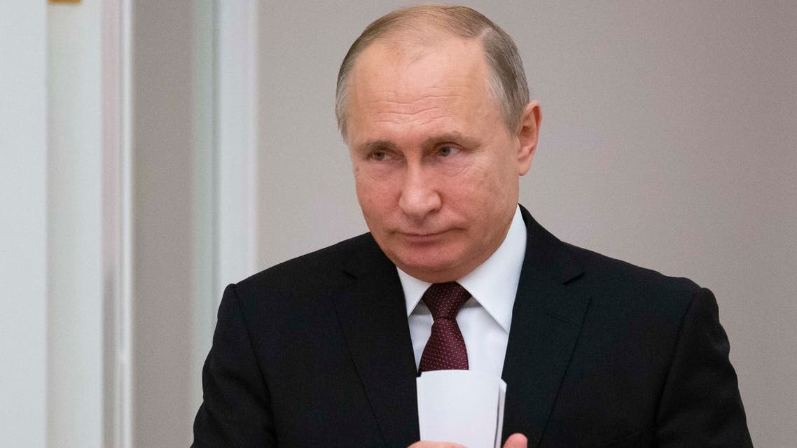 Russian President Vladimir Putin. (AFP)