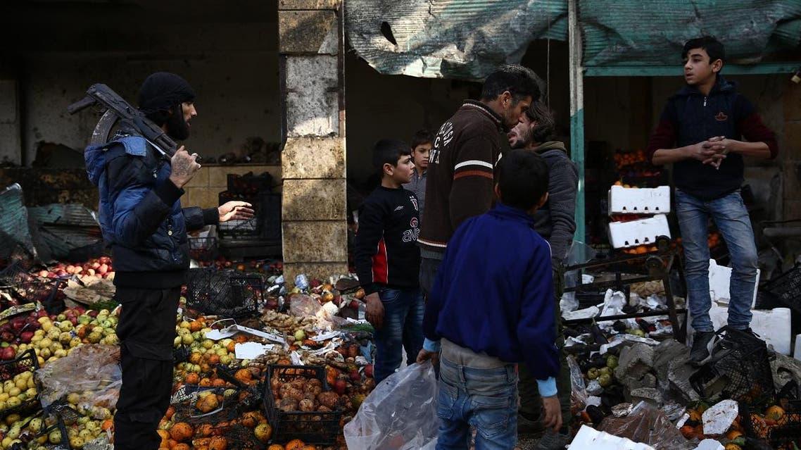 Syria Afrin car explosion (AFP)