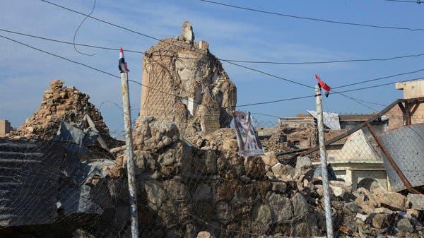 العراق يضع حجر الأساس لإعادة بناء جامع النوري في الموصل