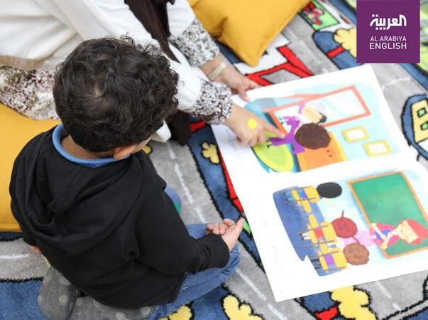 Saudi woman's initiative for children with cancer. (Al Arabiya)
